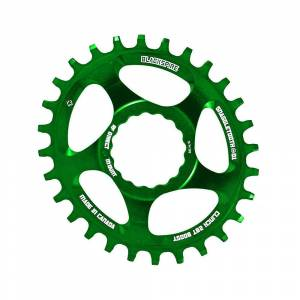 Blackspire Snaggletooth Cinch Oval BOOST Chainring - Direct Mount - Lime Green