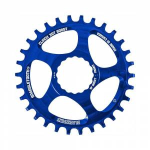 Blackspire Snaggletooth NW Cinch Chainring BOOST - Direct Mount - Blue