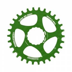 Blackspire Snaggletooth NW Cinch Chainring BOOST - Direct Mount - Lime Green