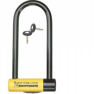 Kryptonite New York M18 U-Lock - Sold Secure Gold Rated - Black