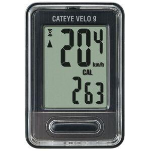 Cateye Velo 9 Function Cycle Computer - Black