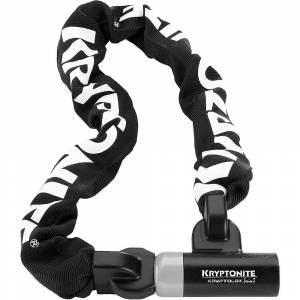 Kryptonite KryptoLok Series 2 995 Integrated Chain - Sold Secure Silver Rated