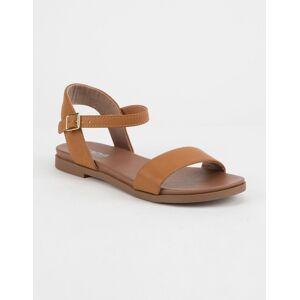 SODA Comfy Meadow Tan Sandals