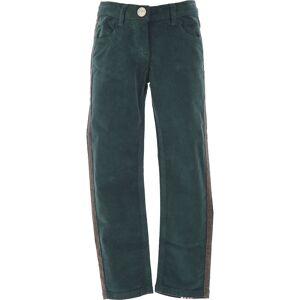 Monnalisa Kids Pants for Girls On Sale in Outlet, Green, Cotton, 2021, 12Y 4Y 5Y 6Y 8Y