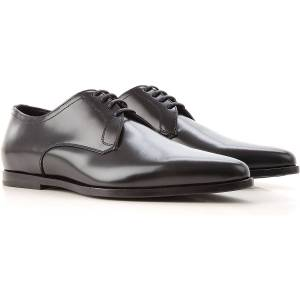 Dolce & Gabbana Lace Up Shoes for Men Oxfords, Derbies and Brogues On Sale in Outlet, Black, Black, 2021, 10 6.5 9.5