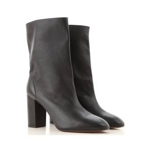 Aquazzura Boots for Women, Booties On Sale in Outlet, Black, Leather, 2021, 10 8