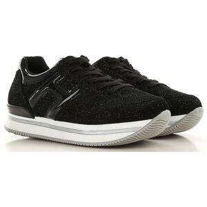 Hogan Kids Shoes for Girls, Black, suede, 2019, 29 30 31 32 33 34 35