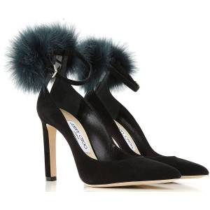 Jimmy Choo Pumps & High Heels for Women On Sale in Outlet, Black, Suede leather, 2019, 6 7 8