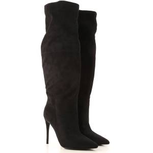 Steve Madden Boots for Women, Booties On Sale in Outlet, Black, Eco Suede leather, 2019, US 8.5 - EU 39 US 10 - EU 40.5