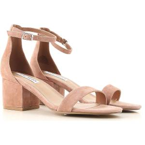 Steve Madden Sandals for Women On Sale in Outlet, Tan, Suede leather, 2019, 5.5