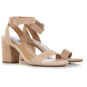 Steve Madden Sandals for Women, Tan Taupe, Suede leather, 2021, US 6.5 - EU 37 US 7 - EU 37.5 US 7.5 - EU 38 US 8.5 - EU 39 US 9 - EU 40