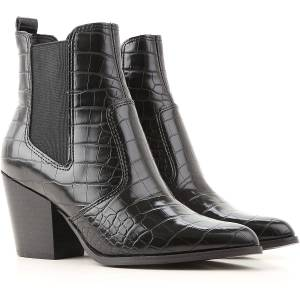 Steve Madden Boots for Women, Booties On Sale in Outlet, Black, Leather, 2019, US 6 - EU 36 US 6.5 - EU 37 US 7.5 - EU 38 US 9 - EU 40