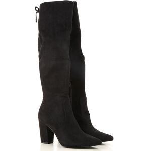 Steve Madden Boots for Women, Booties On Sale in Outlet, Black, polyurethane, 2019, US 7.5 - EU 38 US 8 - EU 38.5 US 8.5 - EU 39