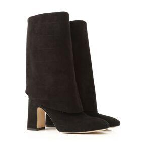 Stuart Weitzman Boots for Women, Booties, Black, Suede leather, 2019, US 6.5 (EU 37) US 7.5  (EU 38) US 8.5  (EU 39)