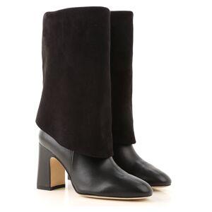 Stuart Weitzman Boots for Women, Booties On Sale in Outlet, Black, Suede leather, 2019, US 5.5 (EU 36) US 6 (EU 36.5) US 6.5 (EU 37) US 8.5  (EU 39)