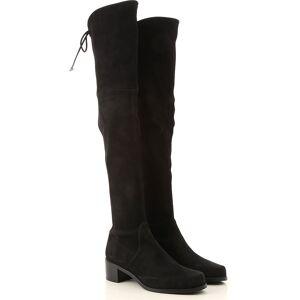 Stuart Weitzman Boots for Women, Booties On Sale, Black, Suede leather, 2019, US 6 (EU 36.5) US 4.5 ( EU 35) US 7.5  (EU 38) US 6.5 (EU 37) US 5.5 (EU