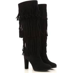 Stuart Weitzman Womens Shoes On Sale in Outlet, Black, Suede leather, 2019, US 4.5 ( EU 35) US 5.5 (EU 36) US 6 (EU 36.5) US 6.5 (EU 37) US 7.5  (EU 3