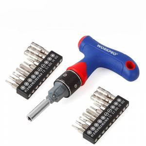 Newchic WORKPRO 21 in 1 Precision T Type Handle Screwdriver Set