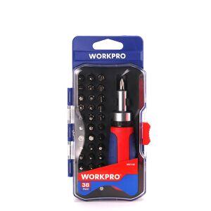 Newchic WORKPRO 38 in 1 Multifunctional Ratcheting Screwdriver Set Home Phone DIY Repair Tools Kit