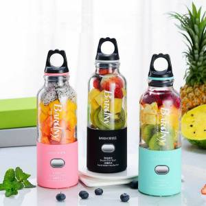 Newchic Portable Juicer With Travel LidUSB Rechargeable Vegetables Fruit Milkshake Smoothie Juicer Cup
