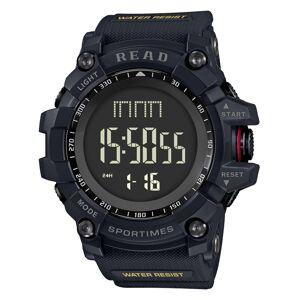 Newchic READ Sport Digital Wrist Watch Multifunction Luminous Display Fashion Time Alarm Watches for Men