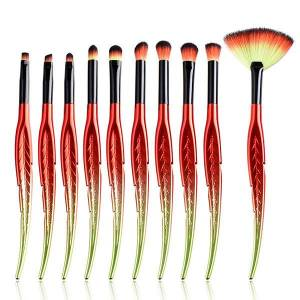 Newchic GUJHUI Leaves Makeup Brushes Cosmetic Foundation Eyebrow Eyeliner Blush Powder Concealer Brush