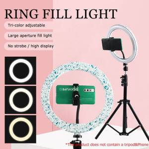 Newchic 10 Inch LED Ring Light Fill Light For Makeup Streaming Selfie Beauty Photography Makeup Mirror