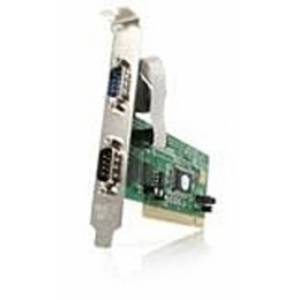 Startech PCI2S550 Serial Adapter for PC - 2 x 9-pin D-Sub (DB-9) Male RS-232, PCI