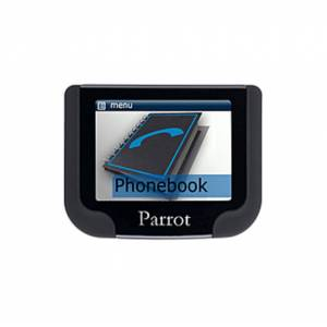Parrot MKi9200 Wireless Bluetooth Car Hands-free Kit - USB - LCD Display - 32.8 ft Range - Echo Cancellation, Noise Reduction, Voice Recognition - Bla