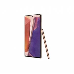 "Samsung Galaxy Note20 5G 128 GB Smartphone - 6.7"" Super AMOLED Plus 1080 x 2400 - 8 GB RAM - Android 10 - 5G - Mystic Bronze - Bar - T-Mobile - Front"