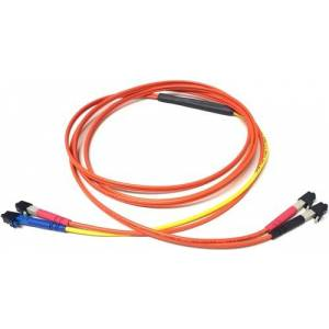 C2G 7115765 Fiber Optic Conditioning Cable - 7 FT - LC to LC- 62.5 Mode Conditioning - RoHS Riser 3.0