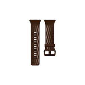 Fitbit Smartwatch Band - Cognac - Leather, Aluminum
