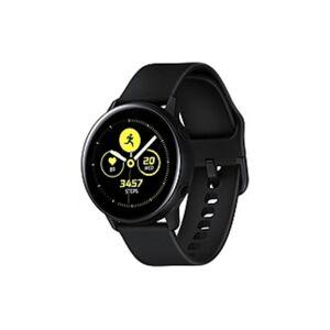 Samsung Galaxy Watch Active (40mm), Black (Bluetooth) - Wrist - Accelerometer, Barometer, Gyro Sensor, Health Sensor, Heart Rate Monitor, Ambient Ligh