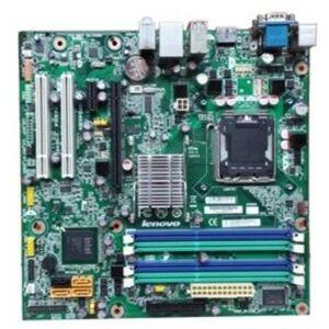Lenovo 64Y9766 Motherboard for ThinkCentre Desktops - DDR3 SDRAM - Intel Q45 Chipset - LGA 775 - PCI Express - MicroATX