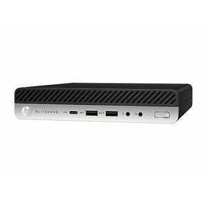 HP EliteDesk 800 G4 6UA80US Mini Desktop Computer - Intel Core i5-8500 - 8 GB RAM - 256 GB Solid Drive - 3.0 GHz - Windows 10 Professional - 64-bit