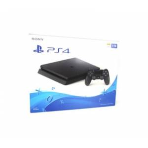 Sony PlayStation 4 Slim Gaming Console - Game Pad Supported - Wireless - Black - ATI Radeon - Blu-ray Disc Player - 1 TB HDD - Gigabit Ethernet - Blue