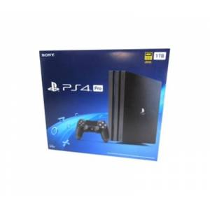 Sony PlayStation 4 Pro - Game Pad Supported - Wireless - Black - AMD Radeon - 3840 x 2160 - 16:9 - 2160p - Blu-ray Disc Player - 1 TB HDD - Gigabit Et