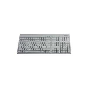 Cherry Electrical Products Cherry Advanced Performance Line G86-71400EUAEAA 42-Keys LPOS Keyboard - USB - Light Gray