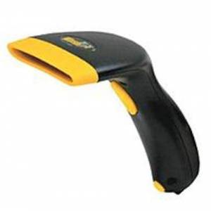 Wasp 633808091040 WCS3905 Handheld CCD, Barcode Scanner - 45 Scans per Second - Decoded - Black, Yellow