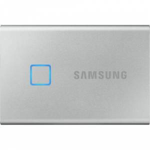 Samsung T7 Touch MU-PC1T0S 1 TB Portable Solid Drive - USB 3.2 - Silver