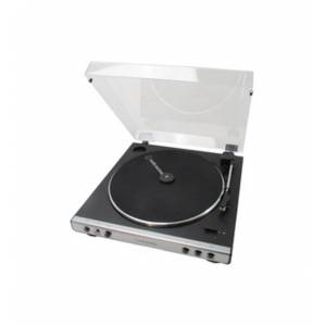 Audio-Technica AT-LP60XHP Fully Automatic Belt-Drive Turntable with Headphones - Belt Drive - Straight Automatic Tone Arm - 45, 33.33 rpm - Die-cast A