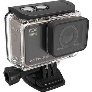 ACTIVEON GCA10W 16 Megapixel CX Gold Action Camera - 4x Digital Zoom - 2-inch LCD Touchscreen - F/2.4 Super Wide Lens - Black, Gold