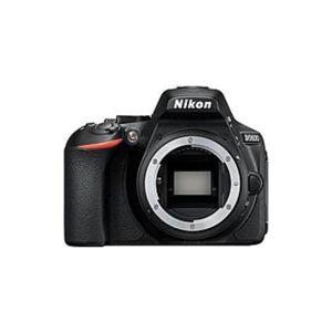 "Nikon D5600 24.2 Megapixel Digital SLR Camera Body Only - Black - 3.2"" Touchscreen LCD - 16:9 - TTL - 6000 x 4000 Image - 1920 x 1080 Video - HD Movie"