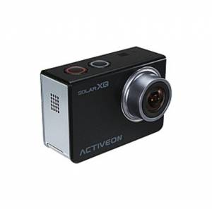 """ACTIVEON Digital Camcorder - 2"""" - Touchscreen LCD - CMOS - Full HD - Black, Silver - 16:9 - Electronic (IS)"""