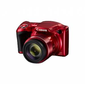 """Canon PowerShot SX420 IS 20 Megapixel Compact Camera - Red - 3"""" LCD - 42x Optical Zoom - 4x Digital Zoom - Optical (IS) - 5152 x 3864 Image - 1280 x 7"""