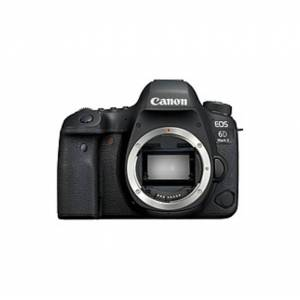 """Canon EOS 6D Mark II 26.2 Megapixel Digital SLR Camera Body Only - 3"""" Touchscreen LCD - Digital (IS) - 6240 x 4160 Image - 1920 x 1080 Video - HD Movi"""