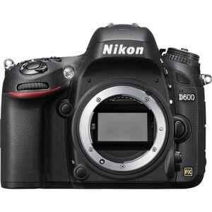 Nikon D600 018208254880 DLSR Camera Body Only - 24.3 Megapixels - TTL Contrast and Phase Detection - 5.5 Frames per Second