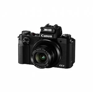 "Canon PowerShot G5 20.2 Megapixel Bridge Camera - Black - 3"" Touchscreen LCD - 4.2x Optical Zoom - 4x Digital Zoom - Optical (IS) - 5472 x 3648 Image"