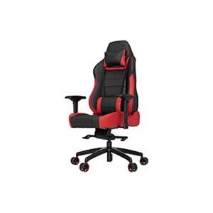 Vertagear Racing Series P-Line PL6000 Gaming Chair Black/Red Edition - High Density Foam (HDF) Red, Faux Leather Black Seat - High Density Foam (HDF)