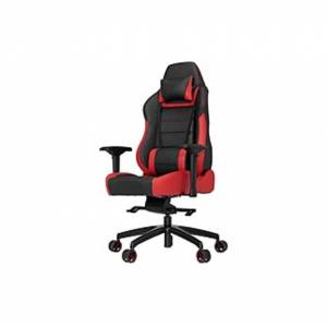 Vertagear Racing Series P-Line PL6000 Gaming Chair Black/Red Edition - High Density Foam (HDF) Red, Faux Leather Black Seat - High Density Foam (HDF)